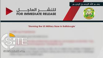 Shabaab Reports Ongoing Suicide Raid at U.S. Military Base in Baledogle, Car Bombing on EU Forces in Mogadishu
