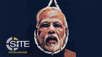 "AGH-Affiliate Threatens ""Days of Bloodbath,"" Features India's Prime Minister in Poster"