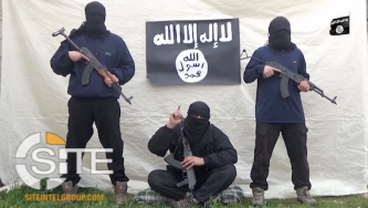 "IS Releases First Video from Azerbaijan, Showing Fighters Threatening ""Tyrants"" and Pledging to Baghdadi"