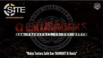 Video from IS-aligned Indonesian Group Vows to Continue Spread of Jihad