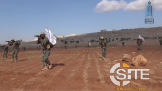 Video Features Graduation of Fighters from HTS-affiliate Military Training Camp