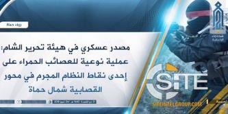 HTS Elite Forces Group Claims Hama Raid Killing 6 Syrian Regime-aligned Militia Fighters