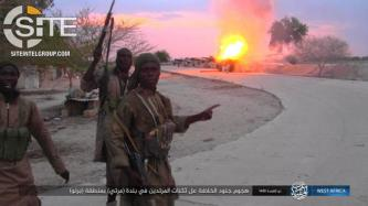 ISWAP Photo Report Shows Armed Raid and Rocket Strike on Nigerian Army Positions in Marte