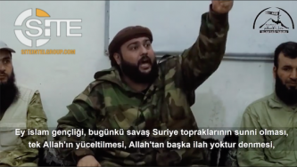 Syrian Turkmen Jihadist Group Releases Video of Latakia Clashes, Features AQ Cleric