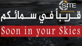 IS-aligned Poster Threatens UAV Strikes on Cities