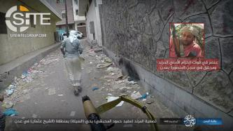 IS Presents Graphic Photos of Shooting Death of SBF Member in Aden