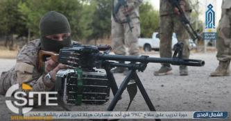 HTS Photo Report Documents PKC Weapons Training