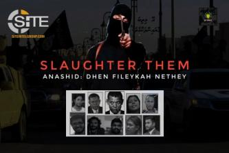 "Maldivian IS-Aligned Group Calls to ""Slaughter"" Activists"