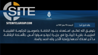 IS Claims Attacking 'Spies' in Patikul, Sulu