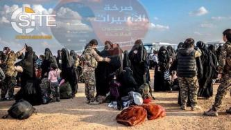 AQ-aligned Group Solicits Funds to Aid Escapees from Northern Syria Refugee Camp