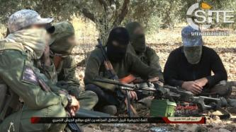 AQ-aligned Jihadi Coalition in Syria Documents Participation in Offensive on Syrian Army Positions in Northern Latakia