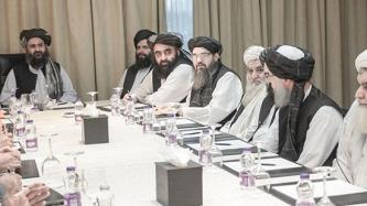 Afghan Taliban Reports Meeting in Tehran Between its Political Delegation and Iranian Foreign Minister