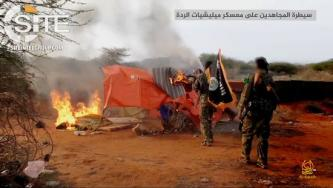 Shabaab Video Documents Attack on SNA Position in Daynunay