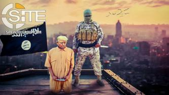 Threatening America, IS-aligned Groups Depict Trump as Prisoner Awaiting Execution and U.S. Capital Ablaze