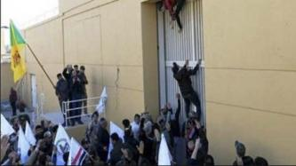 Hezbollah Brigades Sees Protestors Storming U.S. Embassy as Foretelling American Downfall in Iraq