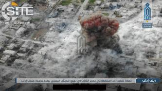 HTS Claims Suicide Bombing on Syrian Regime Forces in Jarjanaz, Documents Attack with Photos