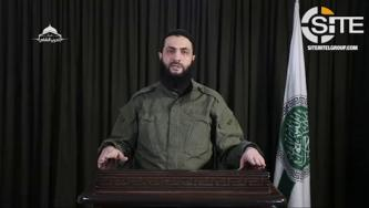 HTS Leader Speaks on Syrian-Russian Idlib Offensive, Calls for Mobilization and Strikes on Oil Refineries and Airports