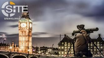 Depicting Fighter Aiming Rocket Launcher at Big Ben, IS-aligned Group Threatens London