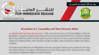 At Conclusion of U.S. Naval Base Raid in Kenya, Shabaab Claims 17 American and 9 Kenyan Deaths