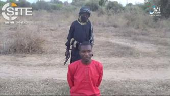 Child Executes Nigerian Christian Held by ISWAP in 'Amaq Video
