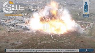 HTS Claims Suicide Bombing against Iranian Militias in Aleppo