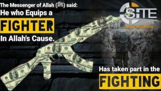 "Syria-based Jihadi ""Charity"" Continues Soliciting Funds for Weapons & Military Equipment"