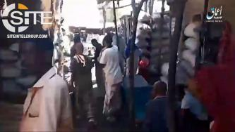 'Amaq Video Shows IS Fighter Killing Somali Policeman in Public Market in Bosaso