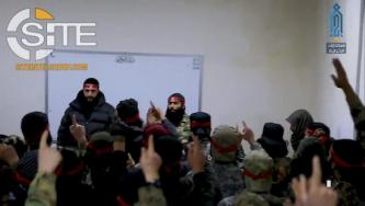 "HTS Elite ""Red Bands"" Give Death Pledge in Presence of Julani"