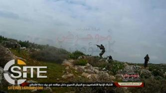 AQ-aligned Jihadi Coalition Claims Raid on Syrian Regime-aligned Militias in Northern Hama
