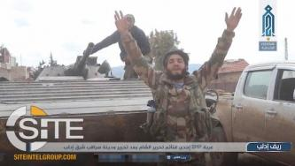 "HTS Coalition Partner Claims ""Liberation"" of 2 Eastern Idlib Towns"