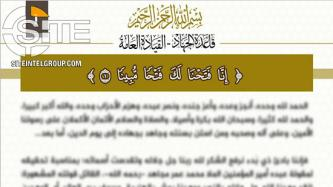 Al-Qaeda Central Celebrates Taliban-U.S. Agreement as Enemy Acknowledging its Defeat