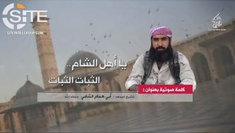 Leader of AQ-aligned Hurras al-Deen Rallies Fighters in Speech, Recommends Military Tactics