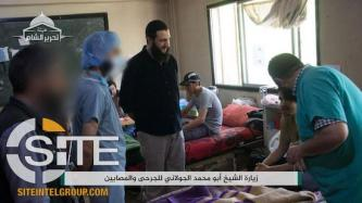 Photo Report Documents HTS Leader Visiting Sick and Injured