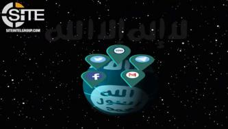 IS-aligned Social Media Account Dispenser Presents Statistical Report Video
