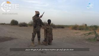 ISWAP Fighter Threatens Chad in 'Amaq Video Showing Execution of Captive Chadian Soldier