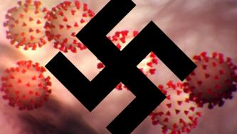 "Movie-Styled Neo-Nazi Poster Calls to ""Kill"" Leading Figure in COVID-19 Fight"