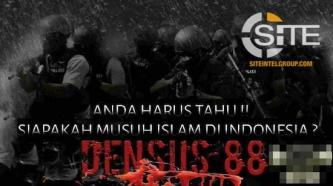 Indonesian IS Supporters Threaten Newly-Appointed Densus 88 Chairman