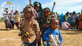 Shabaab Photographs Toy Gun-Totting Children During Eid Celebrations, Claims 18 Attacks in One-Week