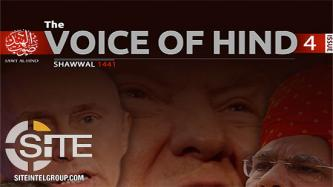 """Voice of Hind"" Urges Attacks in India and Maldives, Praises IS' ""Battle of Attrition"""