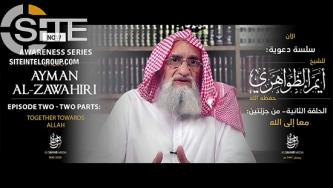 "AQ Leader Zawahiri Critiques ""Value-Neutral, Irreligious Western Materialism"" in 2nd Episode of Anti-Atheism Series"