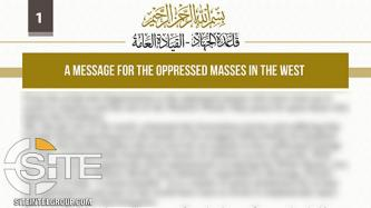 "Al-Qaeda Champions Protests of Racial Injustice in America, Invites to Islam While Calling for ""All-Out Revolt"""