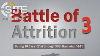 "IS Tallies 228 Operations in 12 Countries During 3rd Wave of ""Battle of Attrition"""