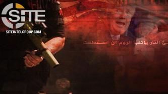 In Second Poster on Subject, Pro-IS Group Sees Civil Unrest in America as Retribution
