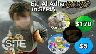 "Syria-based ""Charity"" Launches Eid al-Adha Fundraising Campaign"