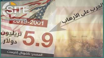"IS-aligned Group Mocks U.S. Over Massive Expenditures for War on Terror, ""Floundering"" Due to COVID-19"