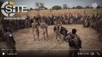 "Using Still from ISWAP Video, Pro-IS Group Warns of Attacks in Lands of ""Crusaders"""