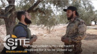 Field Commander of HTS-led Operations Room Gives Video Interview