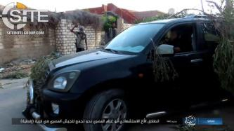 IS Claims Suicide Bombing on Egyptian Soldiers in B'ir al-Abd, Documents Attack with Photos