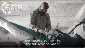 HTS-aligned Media Group Interviews Displaced Syrian Operating Anti-Armor Cannon