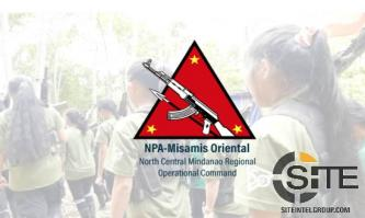 NPA Claims Attacking Forces Securing Private Infrastructure, Burning Food Transport Vehicles